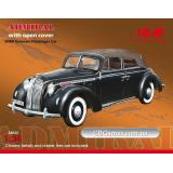 ICM24022  Admiral with open cover, WWII German passenger car