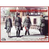 ICM35611  WWII German Staff Personnel (4 figures)