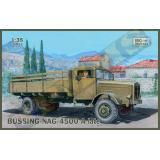 Грузовой автомобиль (BUSSING-NAG) 4500A поздняя версия (IBG35013) Масштаб:  1:35