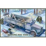 Грузовой автомобиль (BUSSING-NAG) 4500S (IBG35012) Масштаб:  1:35
