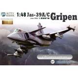 Истребитель Jas39 A/C Gripen (KH80117) Масштаб:  1:48