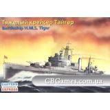 Крейсер HMSTiger (EE40005) Масштаб:  1:415