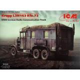 ICM35462  Krupp L3H163 Kfz.72, WWII German radio truck
