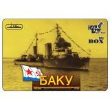 Лидер эскадренных миноносцев 'Баку', 1939г. (Корпус по ватерлинию) (CG3538WL) Масштаб:  1:350
