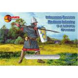 Литовско-русская пехота, 1-я половина XV века (MS72061) Масштаб:  1:72