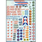 MiG-21 decal (BD48002) Масштаб:  1:48