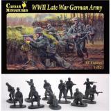 Немецкая армия, позднего периода ВОВ (CMH074) Масштаб:  1:72