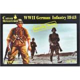 Немецкая пехота 1943 года (CMM7711) Масштаб:  1:72