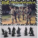 Немецкая пехота в маскхалатах (CMHB04) Масштаб:  1:72