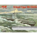 ICMS009  U-Boat Type IIB (1939) German submarine