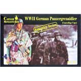 Немецкие гринадеры (в камуфляжных плащах) (CMM7717) Масштаб:  1:72