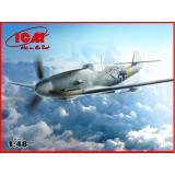 ICM48107  Messerschmitt Bf-109 F4/R6 WWII German fighter
