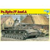 Немецкий танк Pz.Kpfw.IV Ausf.A (DRA6747) Масштаб:  1:35