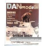 Немецкий танкист. Эвакуация из подбитого танка. 1940-43 гг. набор №3 (DAN35103) Масштаб:  1:35