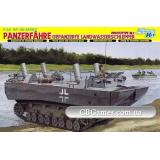 Немецкий транспортный тягач-амфибия Panzerfahre (DRA6625) Масштаб:  1:35