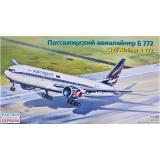 Пассажирский авиалайнер Б772 (EE14440) Масштаб:  1:144
