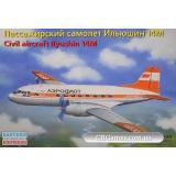 Пассажирский самолет Ильюшин 14М (EE14474) Масштаб:  1:144