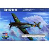 Перехватчик Focke-Wulf Ta 152 C-11 (HB81704) Масштаб:  1:48