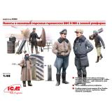 ICM48086  WWII German Luftwaffe Pilots and Ground Personnel in Winter Uniform (5 figures)