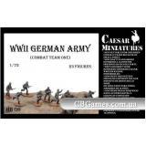 Подразделение немецкой пехоты, набор 1 (CMHB06) Масштаб:  1:72