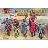 Polish Infantry Mercenaries (Haiduks) (Thirty years war) (MS72033) Масштаб:  1:72