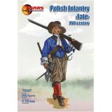 Польская пехота конца XVII векa (MS72047) Масштаб:  1:72
