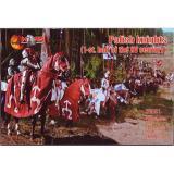Польские рыцари, 1-ая половина XV столетия (MS72051) Масштаб:  1:72