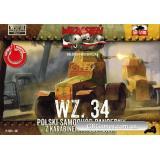 Польский бронеавтомобиль WZ.34 (FTF007) Масштаб:  1:72
