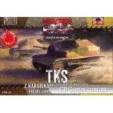 Разведывательная танкетка TKS с пулеметом (FTF015) Масштаб:  1:72
