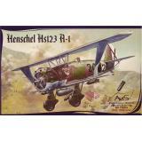 Самолет Hs123 A-1 (AV72004) Масштаб:  1:72