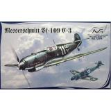 Самолет Мессершмитт Bf.109C-3 (AV72011) Масштаб:  1:72