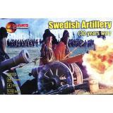 Шведская артиллерия (Тридцатилетняя война) (MS72015) Масштаб:  1:72