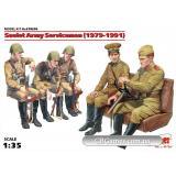 ICM35636  Soviet Army Servicemen (1979-1991), (5 figure)