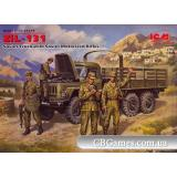 ICM35516  ZIL-131 Soviet truck with Soviet motorized rifles