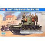 Советский легкий танк Т-26 образца 1935 г. (HB82496) Масштаб:  1:35