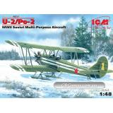ICM48251  U-2/PO-2 Soviet multi-purpose aircraft WWII