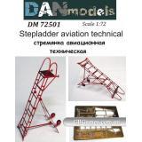 Стремянка авиационная техническая (DAN72501) Масштаб:  1:72