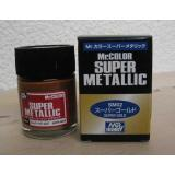 Супер-металлик золото, краска MR. Color Super Metallic (SM002)