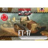 Танк FT 17 (FTF013) Масштаб:  1:72