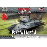 Танк Pz.Kpfw I Ausf.A (FTF002) Масштаб:  1:72