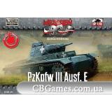 Танк PzKpfw III Ausf.E (FTF014) Масштаб:  1:72