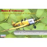Учебно-тренировочный самолет Майлс М-14 Магистр I (EE72288) Масштаб:  1:72