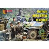 WWII German auto-crew in action (MS72013) Масштаб:  1:72