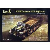 WWII German SWS Halftrack (CMM7210) Масштаб:  1:72