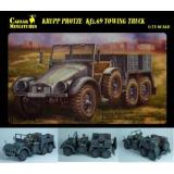 WWII Sd.Kfz.69 Towing Truck (CMM7203) Масштаб:  1:72