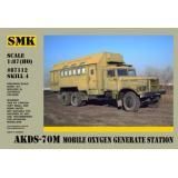 АКДС-70М кислорододобывающая станция (SMK87112) Масштаб:  1:87