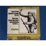 Австро-Венгерский пехотинец 2 1916 г. (ZEB-F35003) Масштаб:  1:35