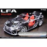 Автомобиль Lexus LFA (прозрачный кузов) (TAM24325) Масштаб:  1:24