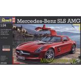 Автомобиль Mercedes-Benz SLS AMG (RV07100) Масштаб:  1:24