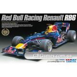 Автомобиль Red Bull RB6 2010 (TAM20067) Масштаб:  1:24
